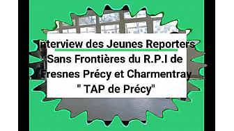 """""""Aimez-vous les enfants ?"""" leur a demandé Clara, Jeune Reporter Sans Frontières du RPI de Fresnes, Précy et Charmentray-Seine-et-Marne #tvlocale #localinfo"""